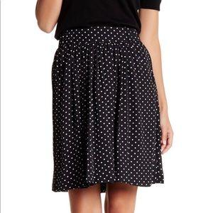 Cece High Wasted Polka Dot Skirt Size 2